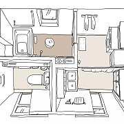 卫生间 | 如何打造风靡一时的三分离卫生间?