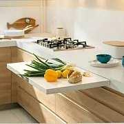 技巧 | 小厨房完全利用法则,一字型橱柜如何轻松收纳
