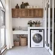 哪都能放洗衣机?就差没挂天花板上啦!