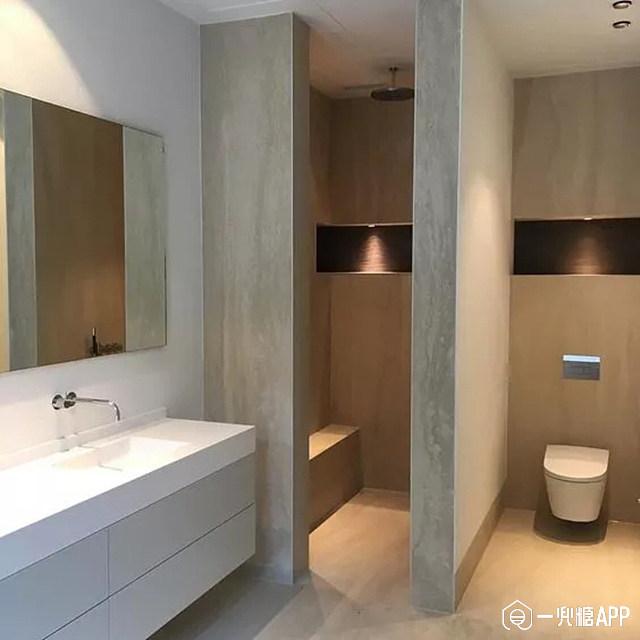 家庭小卫生间隔断_干湿分离卫生间,你了解多少?
