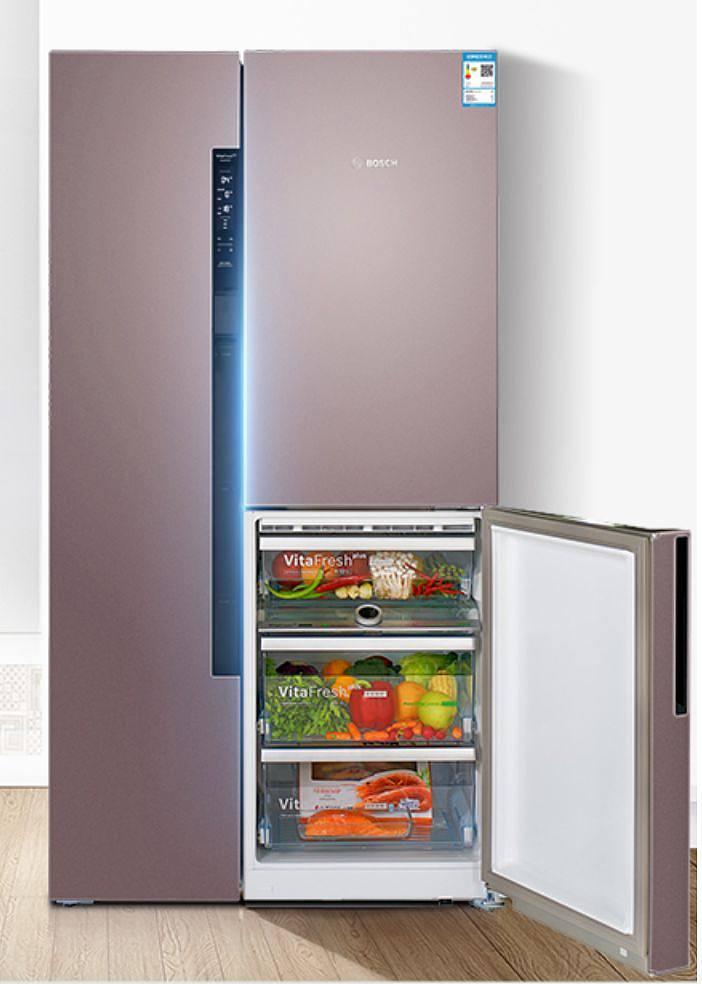 天猫 商品: bosch 博世 bcd-569w(kaf96a66ti) 569升 混冷多门冰箱