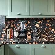 靠颜值杀回家居届的水磨石,这5种用法让你家时髦到飞起