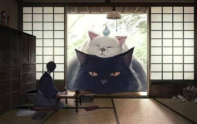 这个日本插画师将动物放大几百倍,治愈了每一个孤独患者