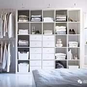 衣柜过渡区,通勤衣物外挂收纳法,时髦又整洁