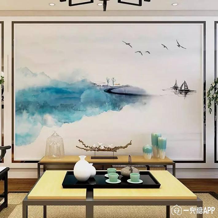 摆脱土掉渣的电视墙,快来选最适合你家的电视墙造型