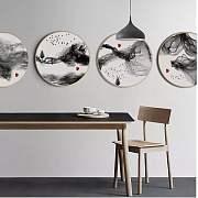 「中国风」家居的正确打开方式,从装饰画开始