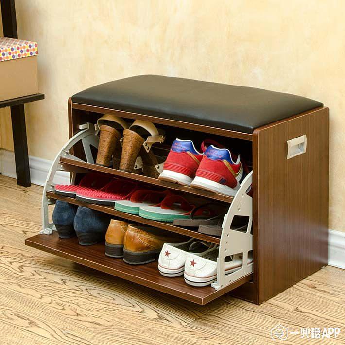 鞋子收纳鞋柜是主角,多功能鞋柜推荐