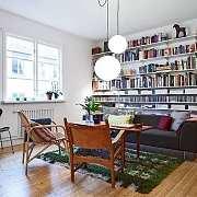 客厅 | 如何实现把书房搬到客厅?