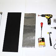自己DIY磁性刀架