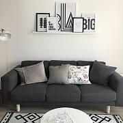 这款北欧疯沙发,便宜好搭,多图案例。