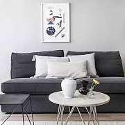 北欧风公寓 素雅空间里的温馨生活