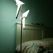 【一兜糖众测】-创意个性千纸鹤落地灯-寂静而凛冽之美