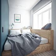让人抓狂的小卧室,用好这4招满足储物、梳妆、工作还有翻跟斗