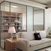 玻璃隔断光线好又省地儿,还能帮你解决空间结构的尴尬