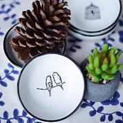 一兜糖众测:JOYYE 手作陶瓷餐具14件套:生活,就是由一顿又一顿饭构建的。