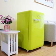 绿树阴浓夏日长|【众测】小吉迷你复古冰箱测评报告