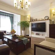简美风格客厅沙发最佳搭配方案探讨
