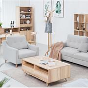 「别样家居」你和极简风之间只差一套纯白蜡木家具