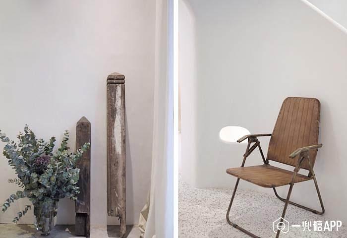 欧式风格木板墙壁
