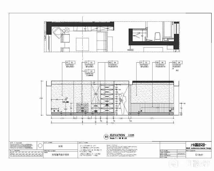 ^立面图   室内设计平面图、天花平面图、水电点位图、地面铺砌平面图、室内立面图、施工节点图、主要材料样品、sketchup效果图、室内家具与软装选择及设计..