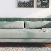 行走de薄荷绿|薄荷色系12款设计别致的沙发,超级好搭