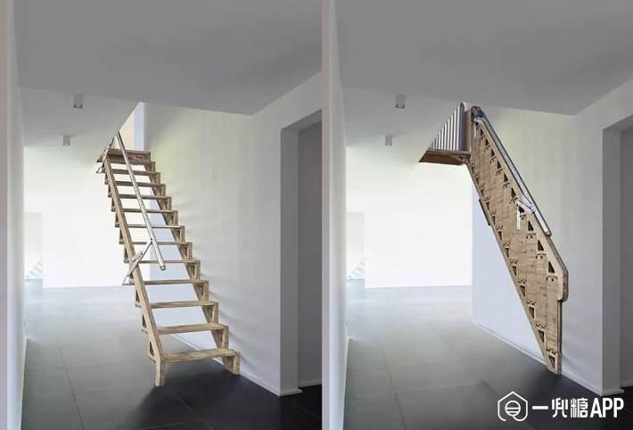楼梯完美搭配阁楼空间