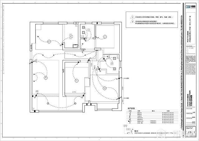 但装修公司是根据设计方案以及现场情况进行开槽布线,并在水电完成