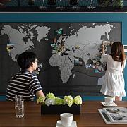 手把手教你打造黑板墙、磁性黑板墙、烤漆玻璃、白板贴,墙面装饰30灵感图