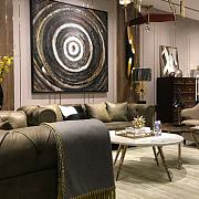 家居装修灵感 | 如何很好的运用色彩、材料,以及配饰装扮出现代奢华而又带一丝复古的家
