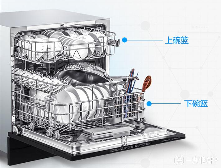 美的(Midea) 8套 WiFi智控洗 全智能除菌嵌入式家用洗碗机 WQP8-W3908J-CN 3099.png
