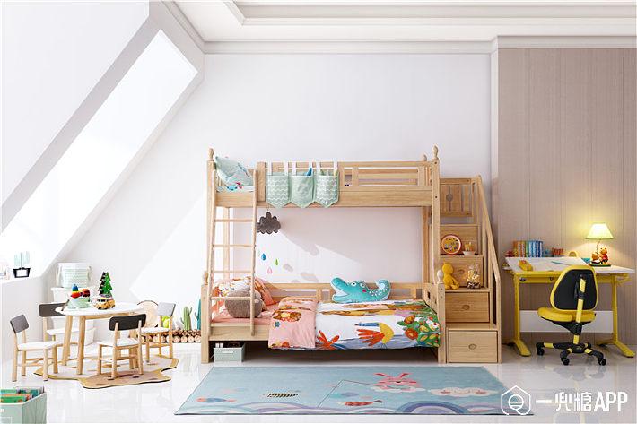 經典雙層實木床.jpg