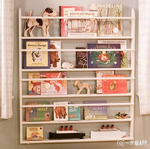你还在四处找书架么 DIY书架快来领走