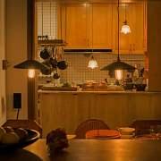 58盏灯,变幻出妙趣横生的光影空间(家庭日记vlog15:南瓜花天妇罗)