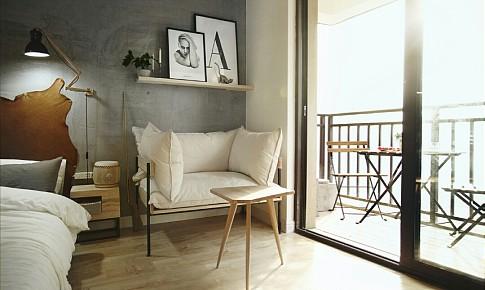 airbnb一木一宿全手工打造北欧轻工业风小屋
