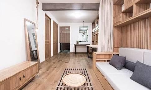 斫雕為樸,建筑師夫婦親手打造原木中國風自宅