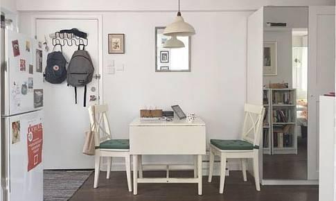 港漂35平兩居室亦可擁有空間感