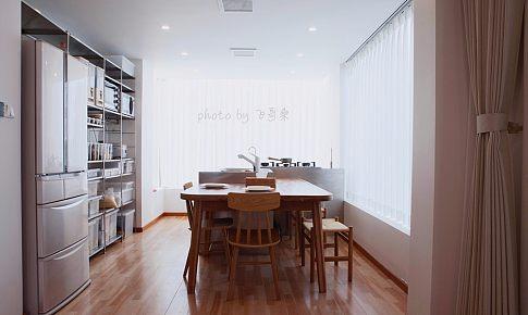 MUJI HOUSE 150㎡开放式餐厨+泳池+移动阳光房