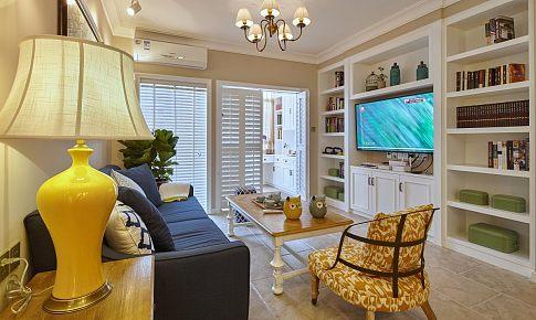 28W打造74㎡小法式,客厅是浪漫主义,书房是实用主义