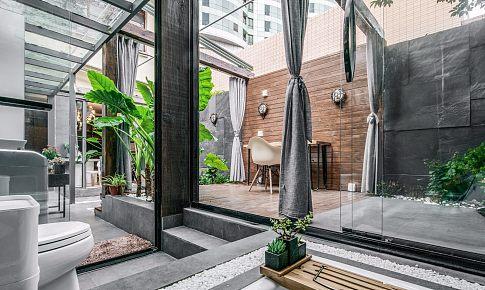 庭院深深深幾許,上海25平帶院子老洋房的驚艷變身。