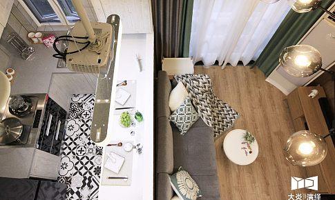 ▏小幸运 ▏70平老公房顶楼小复式的华丽变身,超多储物空间+智能影院+吧台!