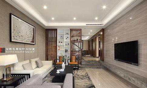中式风复式小别墅,客厅镂空隔断漂亮还实用!