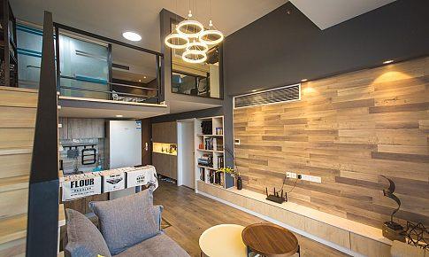 層高只有3.8米的酒店式公寓,也可以有2室2衛