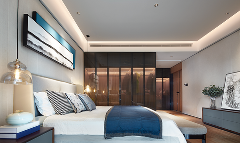 時尚新中式,復式大挑空,讓你家看上去比別墅還闊氣!