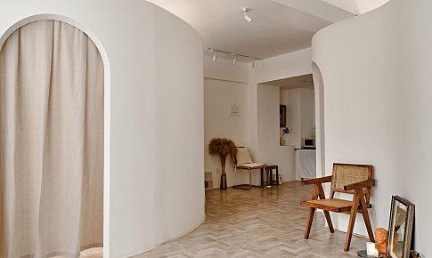 53平辦公室變身大地色系溫暖兩居室