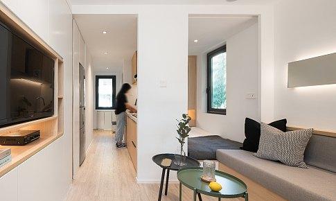 上海30㎡学区老房改造温暖家园全过程