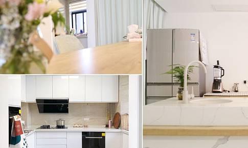 開放式廚房+島臺餐桌一體化,為生活創造更多幸福感