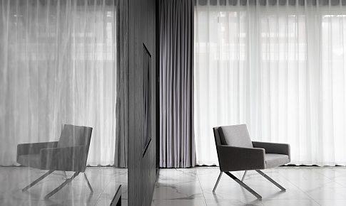 820 ㎡ 現代極簡,純粹的空間,自然的溫度
