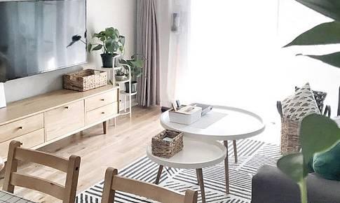 冷淡的灰色,更適合用來包裹溫暖的家