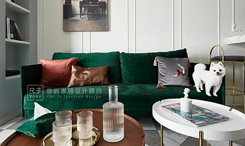 【尺子室內設計】66平米的家裝出了100多平的通透感,還擁有衣帽間!