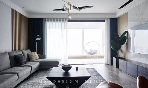 城市果嶺190m2丨空間魔術,打造舒適與顏值兼具的二娃之家!